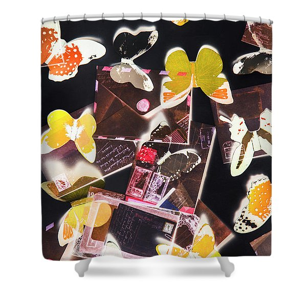 Inspiration Delivery Shower Curtain