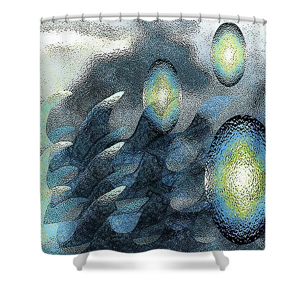 Interstellar  Shower Curtain