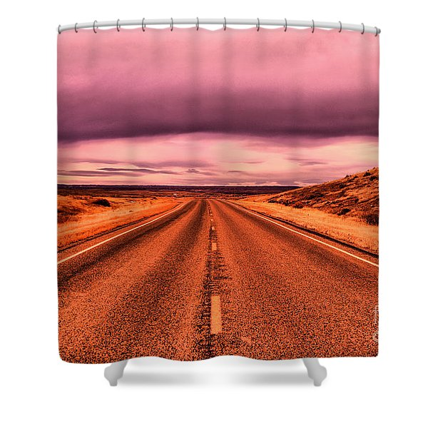 Into Nothingness  Shower Curtain