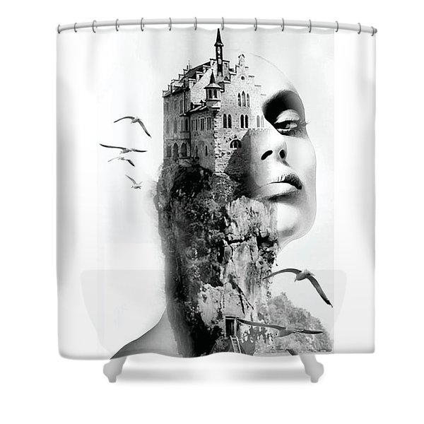 Intoxicating Birds  Shower Curtain