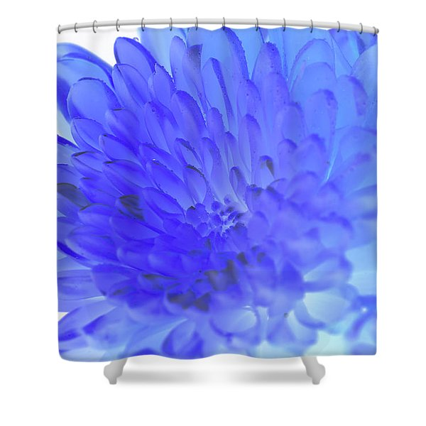 Inverted Flower Shower Curtain