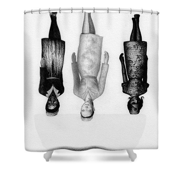 Inverted Nurses - Artwork Shower Curtain