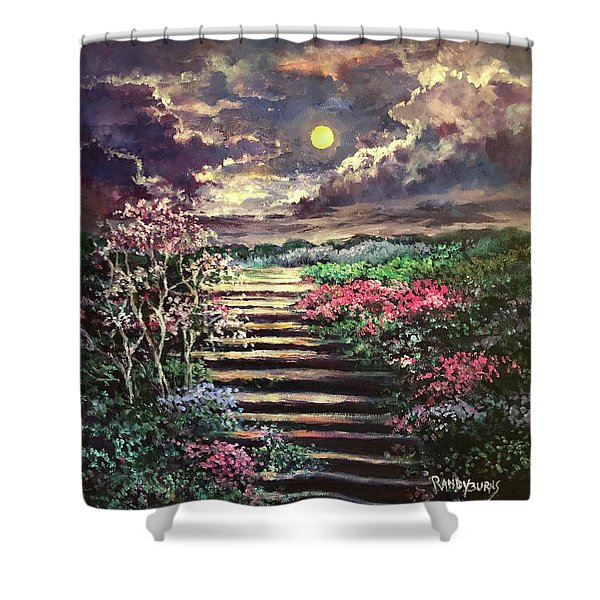Invitation To Heaven Shower Curtain