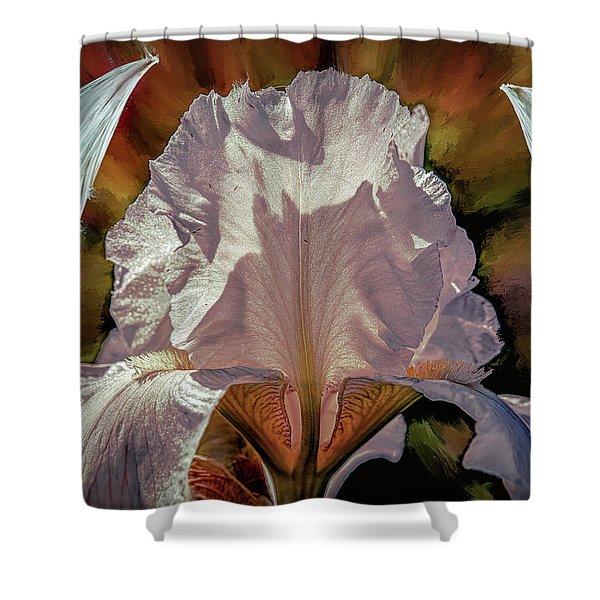 Iris And Angel #i8 Shower Curtain