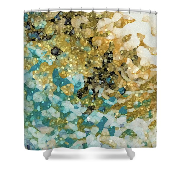 Isaiah 26 3. In Perfect Peace Shower Curtain