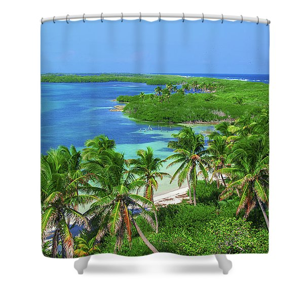 Isla Contoy Shower Curtain