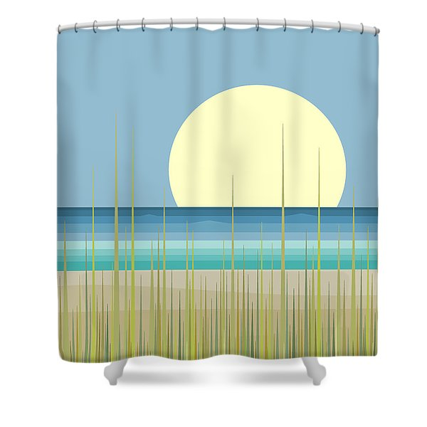 Island Beach Shower Curtain