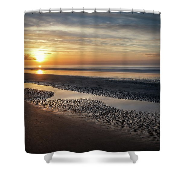 Isle Of Palms Morning Patterns Shower Curtain