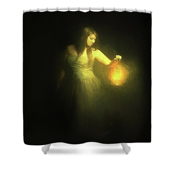 It Beckons Me Shower Curtain
