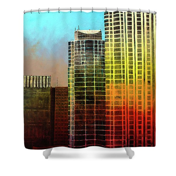 It Takes A Rainbow Shower Curtain