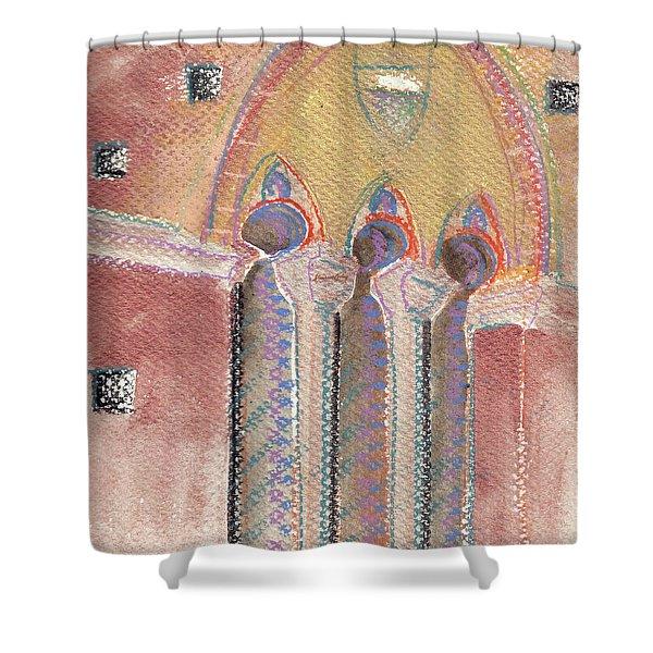 Italian Arch Shower Curtain