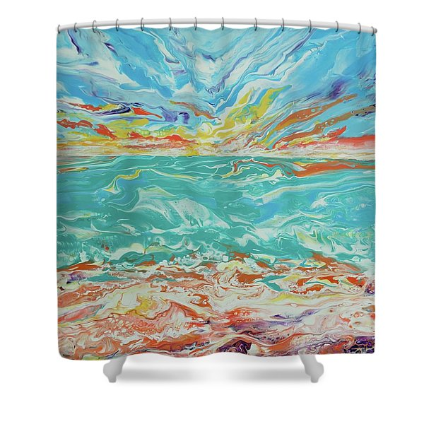 It's A Beach Day Shower Curtain