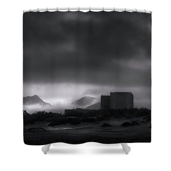 It's Out There Shower Curtain