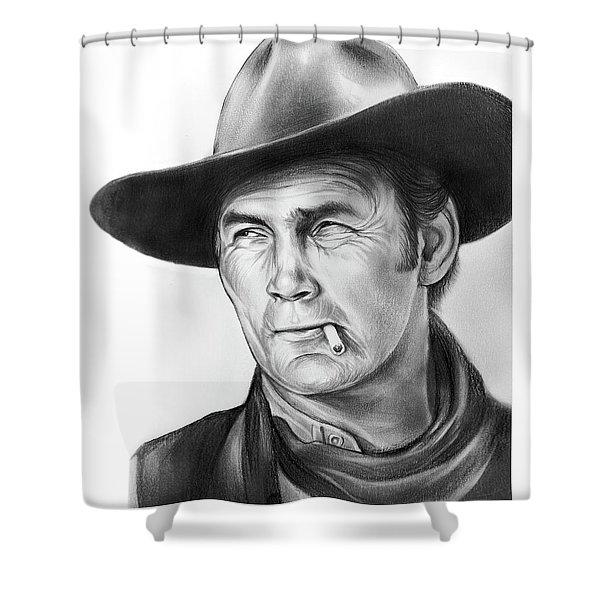 Jack Palance Shower Curtain