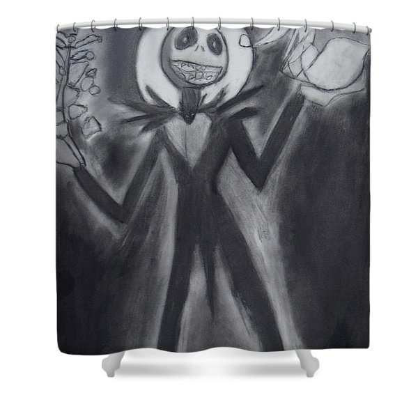 Jack Skellington Shower Curtain