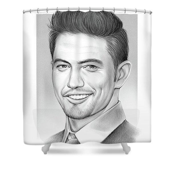Jackson Rathbone Shower Curtain