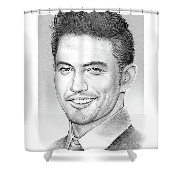 Jackson Rathbone Shower Curtain