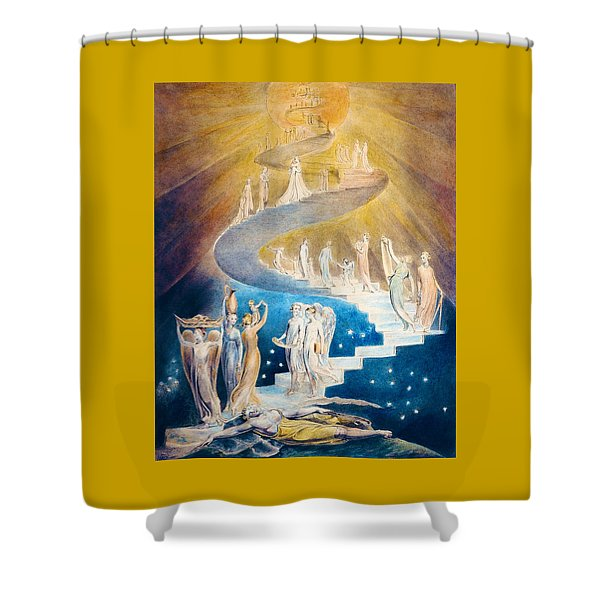 Jacob's Dream - Digital Remastered Edition Shower Curtain
