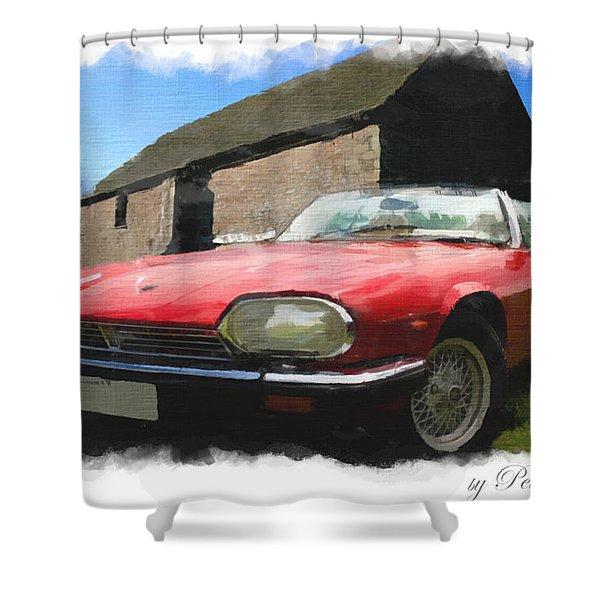 Jaguar Xjs - 1 Shower Curtain