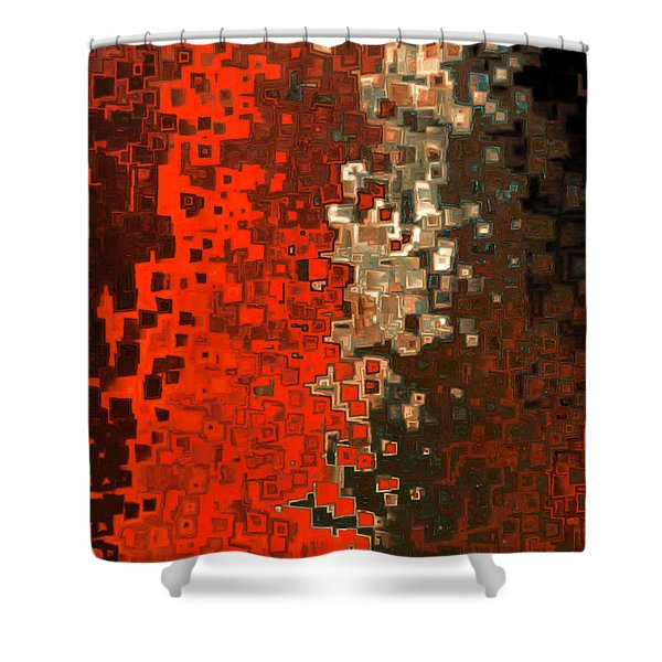 James 5 16. Praying For A Change Shower Curtain
