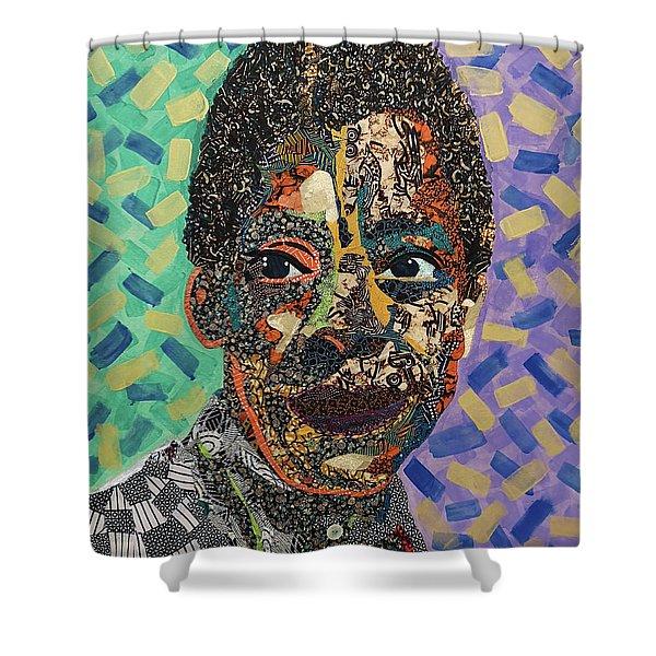 James Baldwin The Fire Next Time Shower Curtain