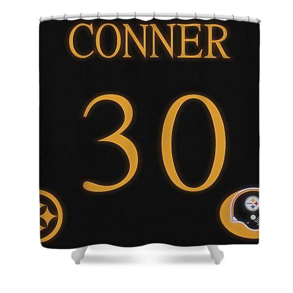 James Conner Jersey Shower Curtain