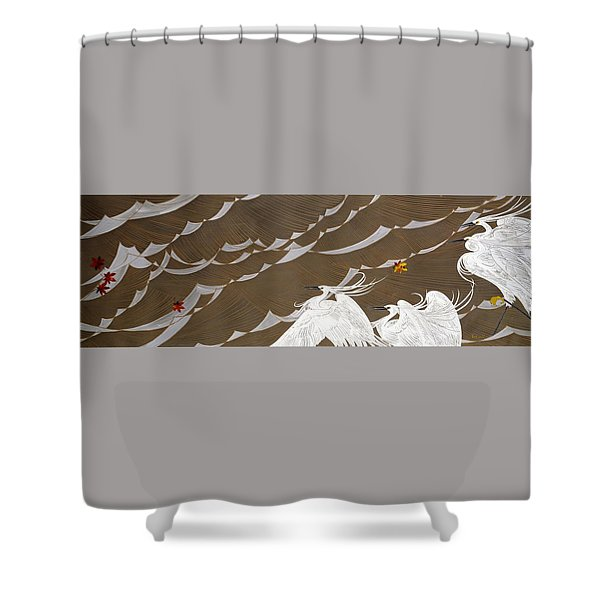 Japanese Modern Interior Art #116 Shower Curtain