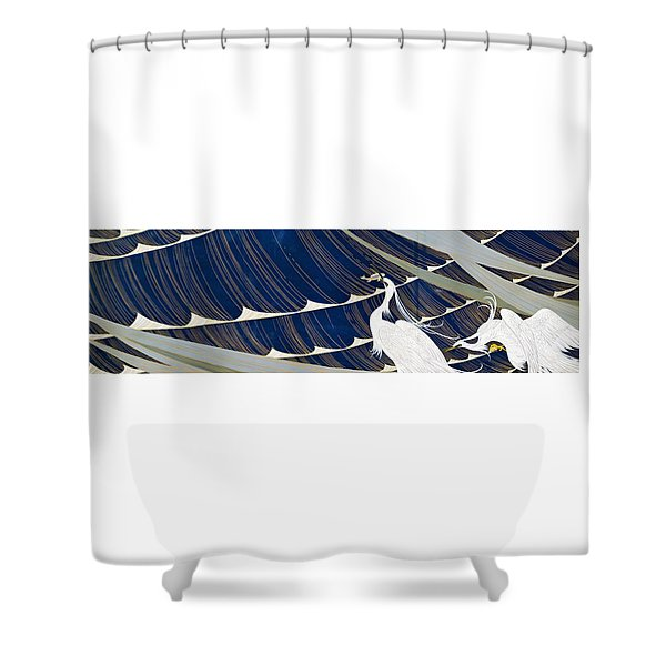 Japanese Modern Interior Art #118 Shower Curtain