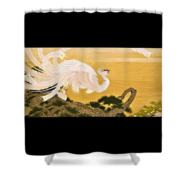 Japanese Modern Interior Art #121-part1 Shower Curtain