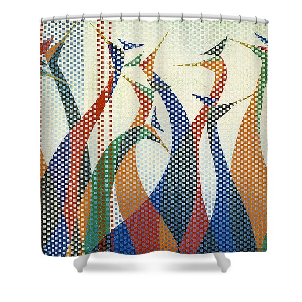Japanese Modern Interior Art #130 Shower Curtain