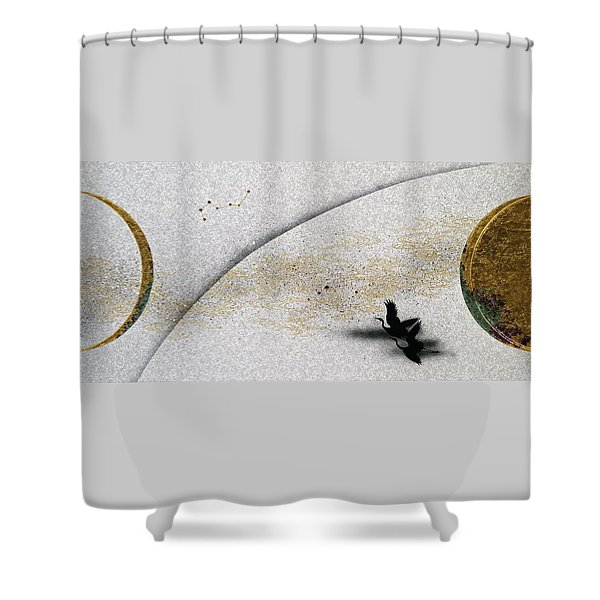 Japanese Modern Interior Art #133 Shower Curtain