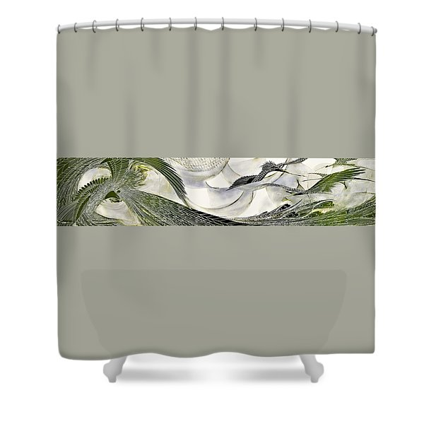 Japanese Modern Interior Art #137 Shower Curtain