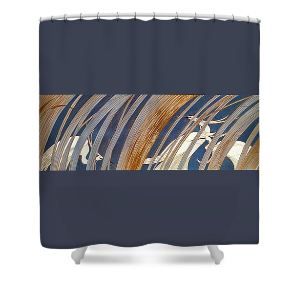 Japanese Modern Interior Art #139 Shower Curtain