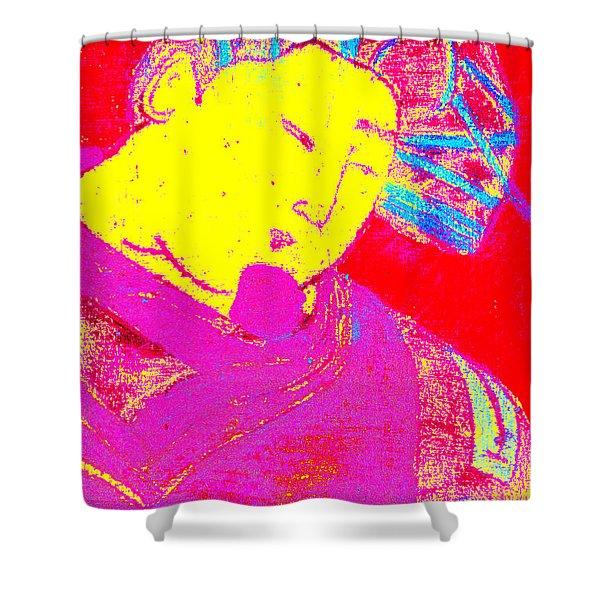 Japanese Pop Art Print 9 Shower Curtain