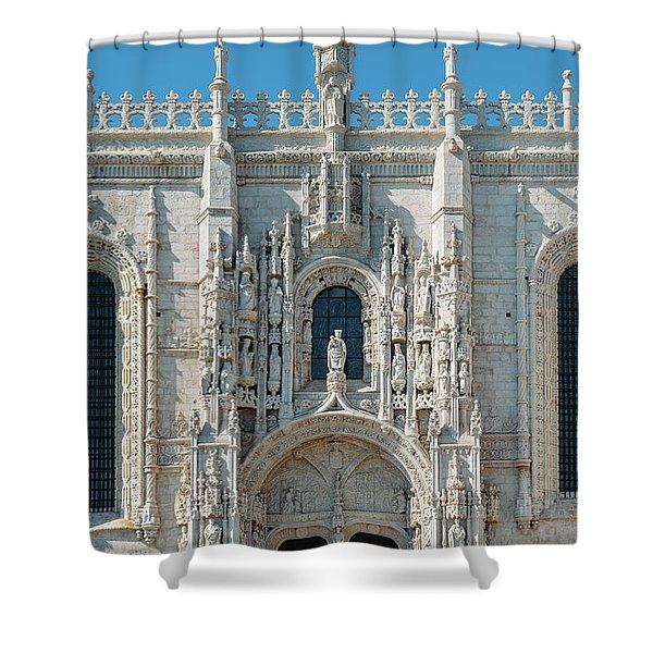 Jeronimos Monastery, Portugal Shower Curtain
