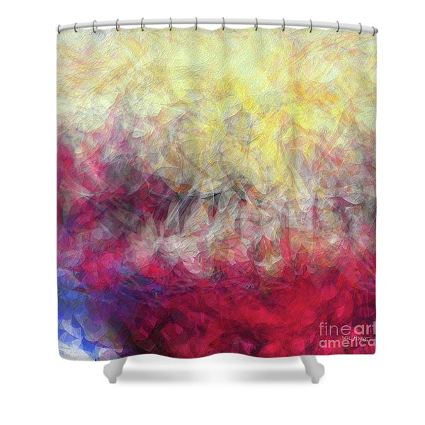Jesus Christ, Rose Of Sharon. Song Of Solomon 2 1 Shower Curtain