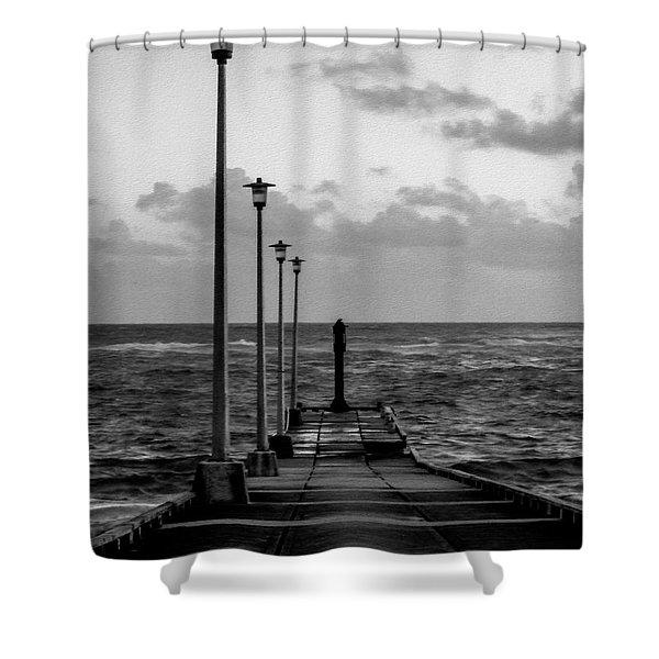Jetty Shower Curtain