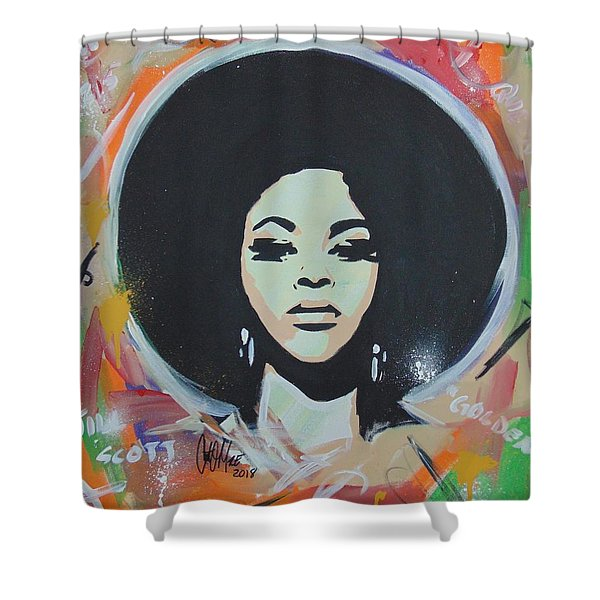 Jill So Beautiful Shower Curtain