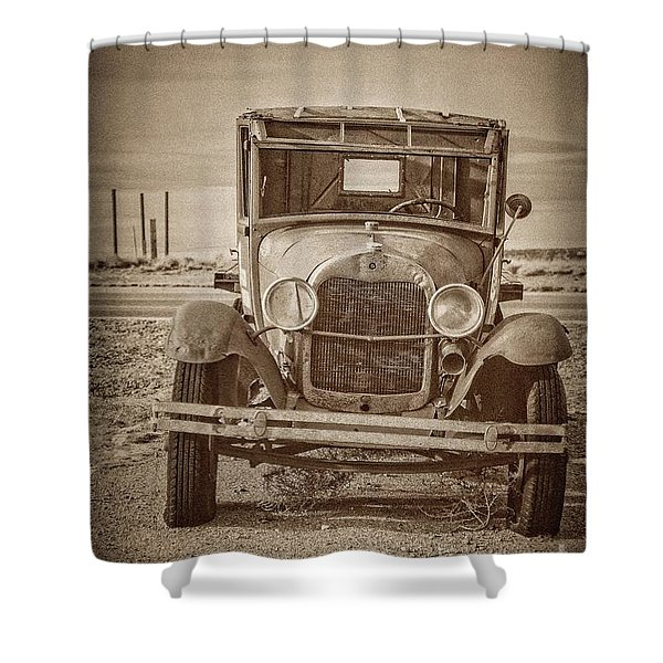 Jilted Jalopy Shower Curtain