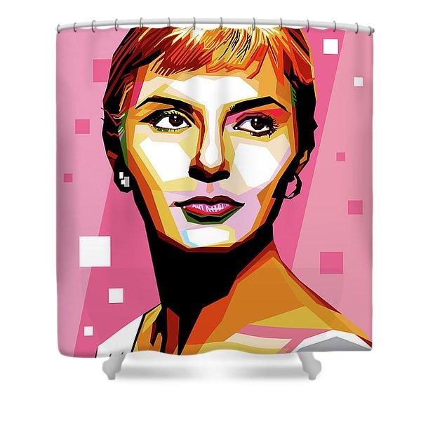 Joanne Woodward Shower Curtain