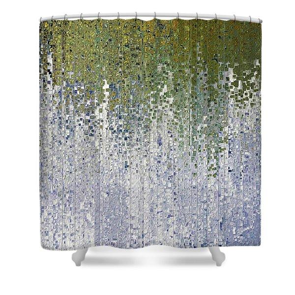John 15 5. Abide In Me Shower Curtain