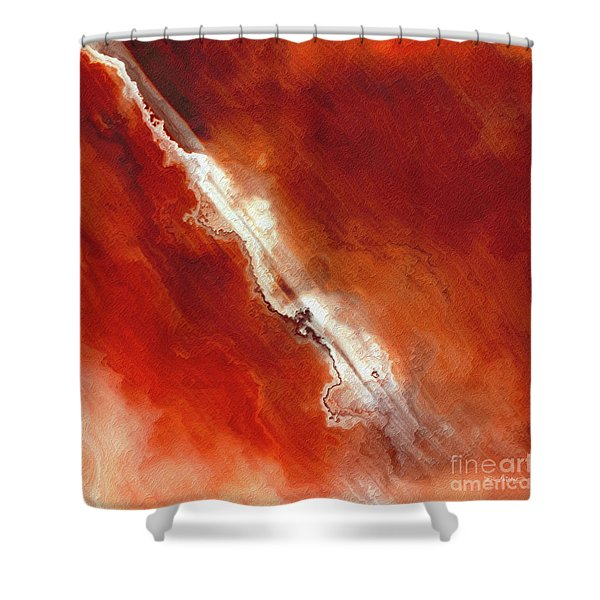 John 5 24. Passed From Death To Life Shower Curtain