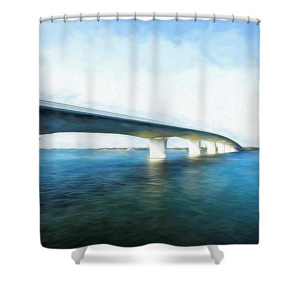John Ringling Causeway Shower Curtain