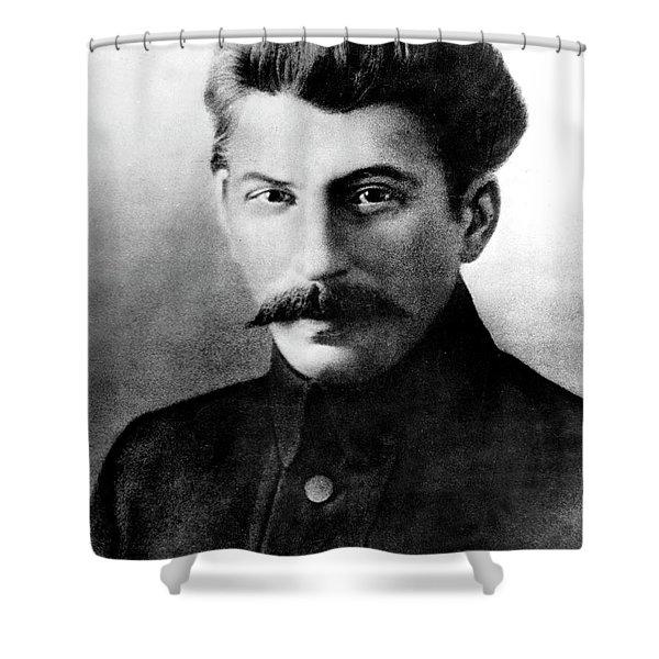 Joseph Stalin In 1917 Shower Curtain