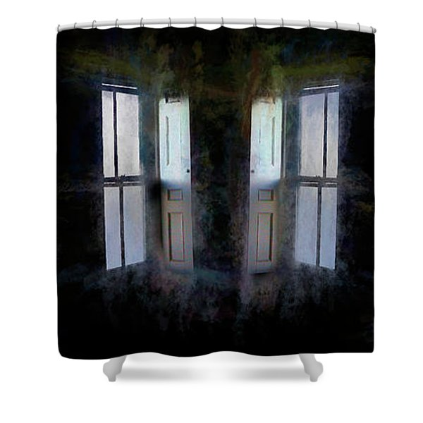 Shower Curtain featuring the photograph Journey To Oz by Wayne King