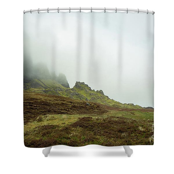 Journey To The Quiraing Shower Curtain