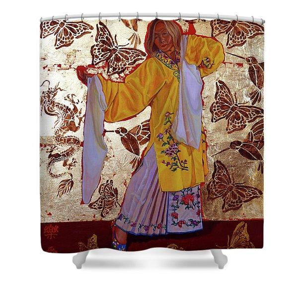 Joyful Love Shower Curtain
