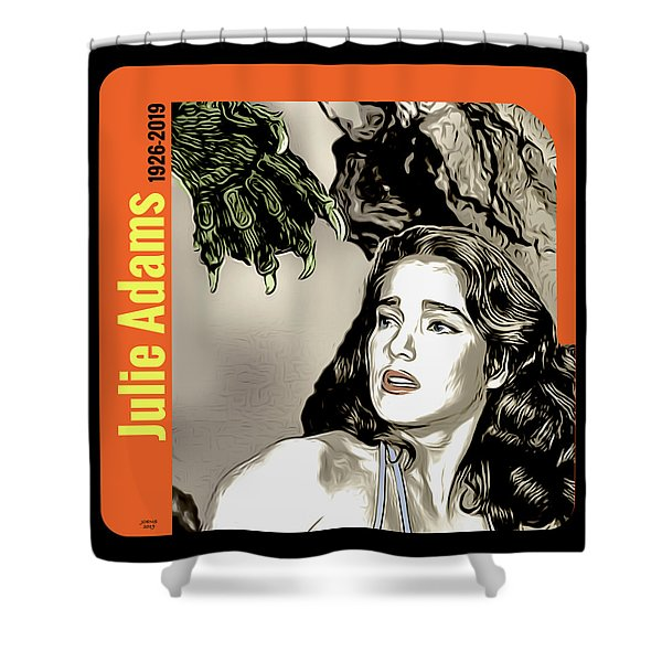 Julie Adams Tribute Shower Curtain