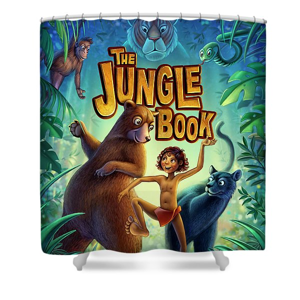 Jungle Book Shower Curtain