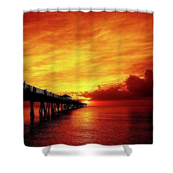 Juno Pier 2 Shower Curtain